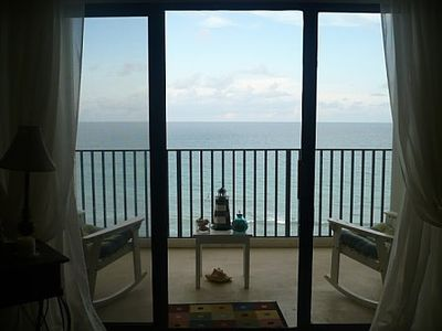 Photo for Beautiful Apartment Over Looking the Ocean and the Bay.