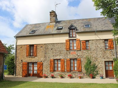 Photo for A Beautiful 16th Century Farmhouse In The Heart Of The Normandy Countryside