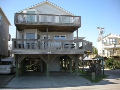 Photo for Oceanfront B2  Corner lot, 5br/3ba, Fantastic house!
