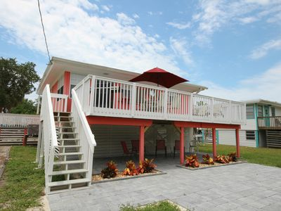 Photo for 4841 Estero Blvd - Tropical Home with Gulf View