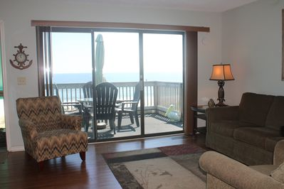 Relaxing Ocean View From Living Room and Deck