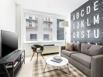 Photo for Sonder | Wall Street | Unique 1BR + Lounge