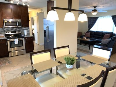 Photo for Comfortable House w/ private Backyard 5 min to Beach!