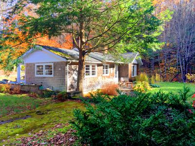 Photo for Beautiful home on a babbling brook in the heart of The Berkshires