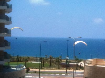 Photo for 4-room apartment, 40 meters from beach, sea view, up to 7