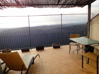 Photo for Apartment with terrace and panoramic view 180 ° Siagne valley near Grasse