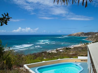 Photo for New!  Exclusive east end villa, expansive ocean views, pool, walk to beach