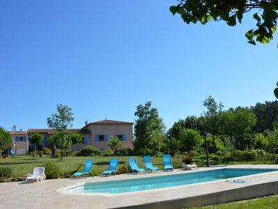 Photo for SWIMMING POOL RELAXING LEISURE Only Host On Hill Discoveries From Cevennes To The Sea