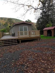 Photo for PA Grand Canyon cozy mountain retreat on 35 private acres