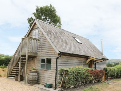 Photo for BICTON LODGE, family friendly, with hot tub in Clun, Ref 29550