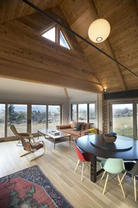 Photo for Perfect Contemporary Cabin - Spacious + Cozy + Stunning Views!!!
