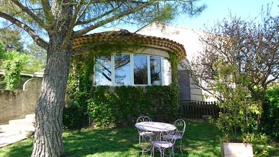 Photo for House with beautiful views and pool, for family holidays in the Luberon