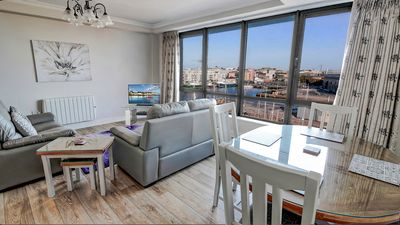 Photo for PENTHOUSE with PRIVATE Rooftop Terrace and Water Views