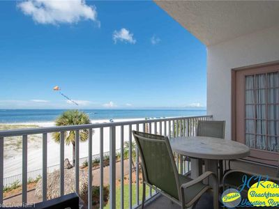 Photo for EXCELLENT Madeira Beach GULF FRONT vacation rental at SEA BREEZE    63202B