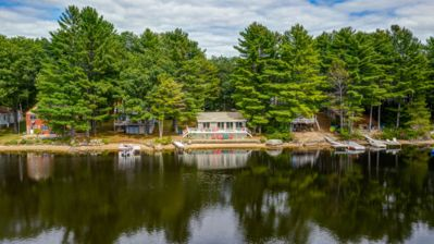 Photo for Maine Lakefront Cottage - Great swimming and fishing only 2 Hours From Boston!