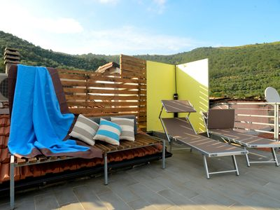 Photo for Tranquility and relaxation just a few km from the sea with air conditioning and free wifi