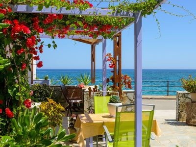 Photo for MODERN STUDIO, ideal for families, AT SPECIAL PRICE, in Milatos Beach