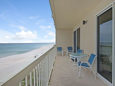 Photo for Beautiful 4th Floor Condo, Bunk Room, Beach Service, Great for families!