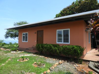 Photo for Comfortable, modern  house with breathtaking sea view, close to pristine beaches