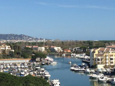 Photo for Very nice Apartment in marina 7km from Cannes