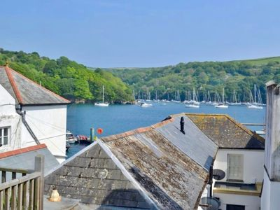 Photo for Albert View, a delightful apartment in Fowey with a great rooftop estuary view