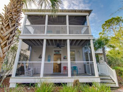 Photo for Coastal home w/ screened porch & shared hot tub - snowbirds welcome!