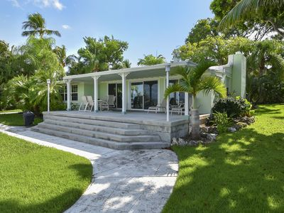 Photo for Bayfront Bungalow - Charming 4 Bedroom Home Right on the Bay