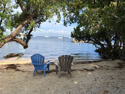 Photo for Beachfront Hideaway in the heart of Key Largo! Your own private beach!