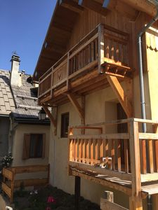Photo for BEAUTIFUL MOUNTAIN CHALET SERRE CHEVALIER AT THE FOOT OF TRACKS FULL SOUTH