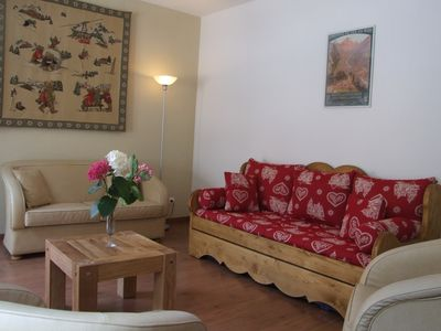 Photo for New Luxurious apartment T4 ,center of Cauterets with montain deco