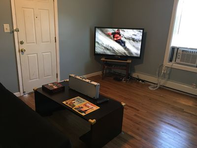 Photo for Central location, Kitchen, WiFi, Walk everywhere and parking included