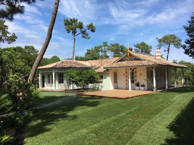 Photo for Charming villa renovated Arcachon style