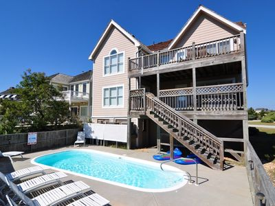 Photo for Dune Nuttin: 5 BR / 3 BA house in Nags Head, Sleeps 15