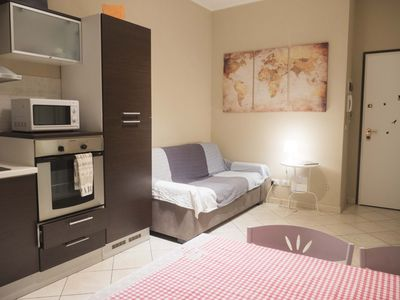Photo for Casa Bella Marconi is an apartment of 34 square meters. clean, bright, in the heart of the city.