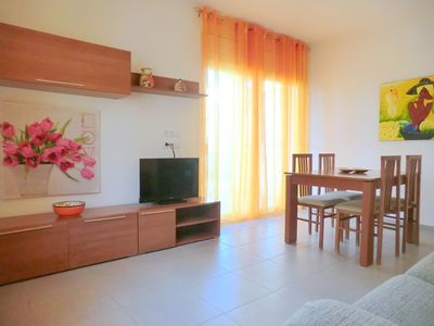Photo for Modern apartment in second line of the beach in Santa Margarita (Roses).
