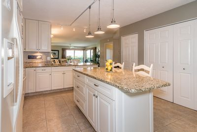 Fabulous kitchen in  spacious condo.Totally remodeled and updated .  1,337 sq ft