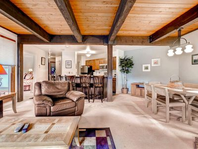 Photo for Warm mountain home w/ private balcony & beautiful view - 250 yds from lifts!