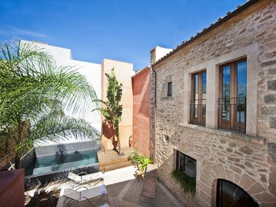 Photo for A townhouse with lots of caracter in Alcudia on 1500 meters of beach.