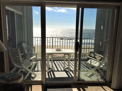 Photo for Beautiful Ocean Front Condo with Amazing Beach View