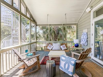 Photo for Beautifully furnished, pet-friendly cottage encompasses the beauty of Tybee