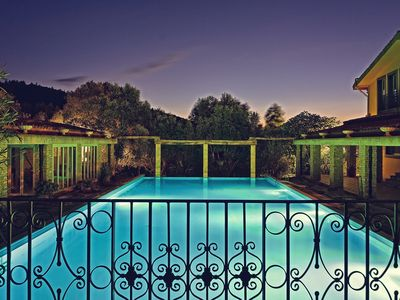 Photo for 9 suites, swimming pool, tennis, soccer, billiards