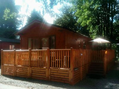 Photo for Log Cabin On Shores Of Lake Windermere, Surrounded By Breathtaking Scenery