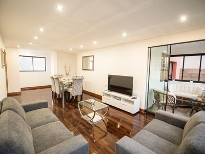 Photo for Beautiful Apartment in the Heart of Miraflores