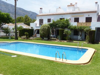 Photo for Two bedroom apartment for 5 people with pool.