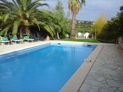 Photo for To RENT Villa with pool and panoramic views Les Issambres /Ste Maxime -Franc
