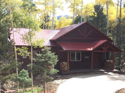 Photo for Ski-in, Ski-out Cabin, Beautiful Mountain Retreat on the Heading Home Ski Run