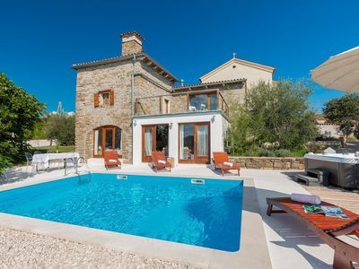 Photo for Stone Villa Sussini, in Istria, with a Pool