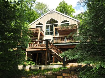 Photo for Incredible Lakefront w/Spacious Deck