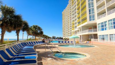 Photo for OCEANFRONT CONDO **SLEEPS 6-8** 2 beach chairs & umbrella included. BOOK NOW!