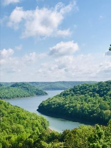 Center Hill Lake, Historic Log Cabin updated with amazing Lake/Mountain views!